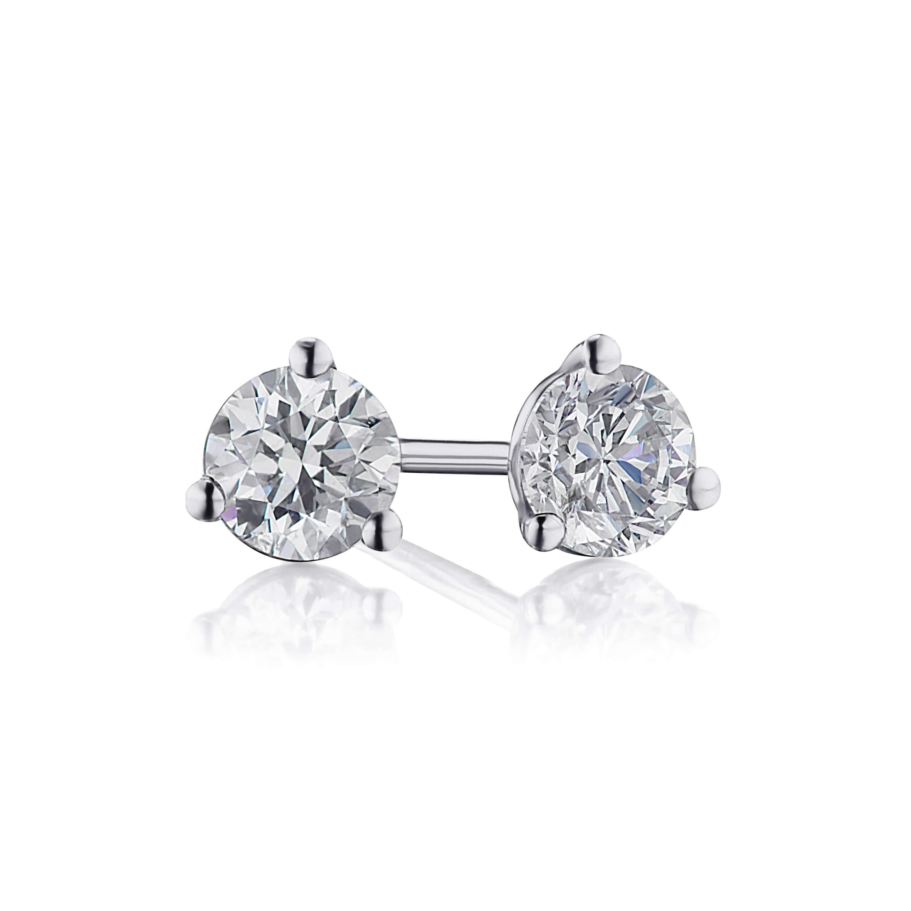 .82ct. Diamond Stud Earrings